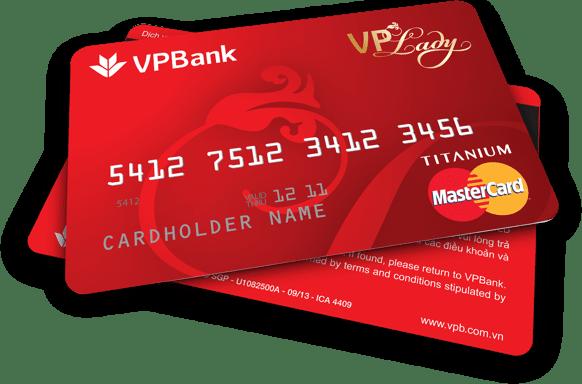 Thẻ vpbank credit card
